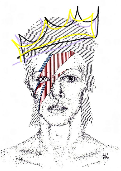 David Bowie - Art_By_Yedvay