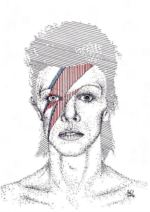 David Bowie - Art_By_Yedvay