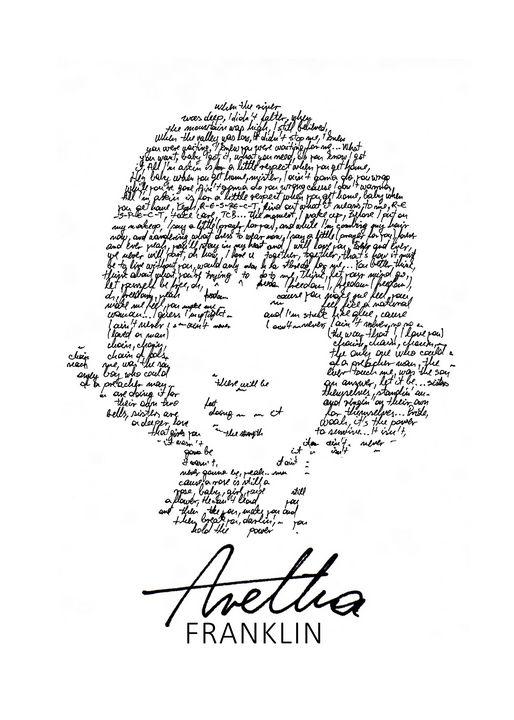 Aretha Franklin in lyrics - Art_By_Yedvay