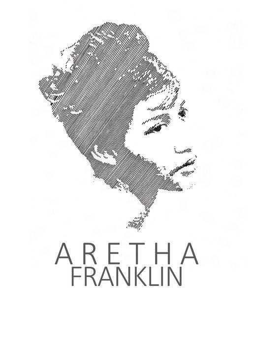 Aretha Franklin - Art_By_Yedvay