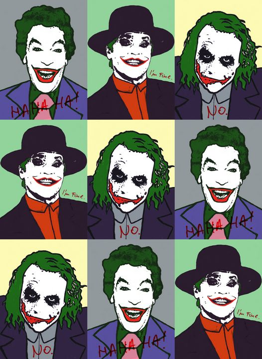 The Joker Pop Art - Art_By_Yedvay