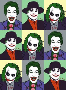 The Joker Pop Art