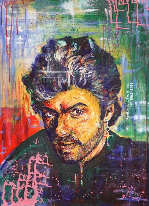 George Michael - Art_By_Yedvay