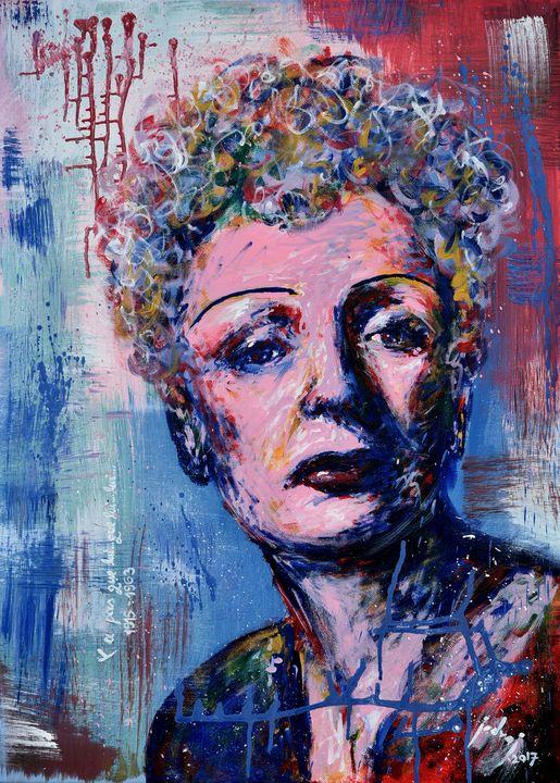 Edith Piaf - Art_By_Yedvay