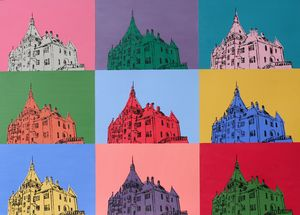 Castle Pop Art