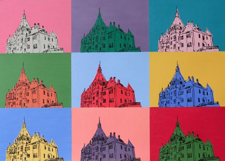 Castle Pop Art - Art_By_Yedvay
