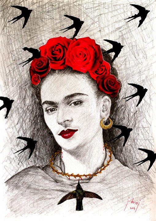 Frida by Khalo - Art_By_Yedvay