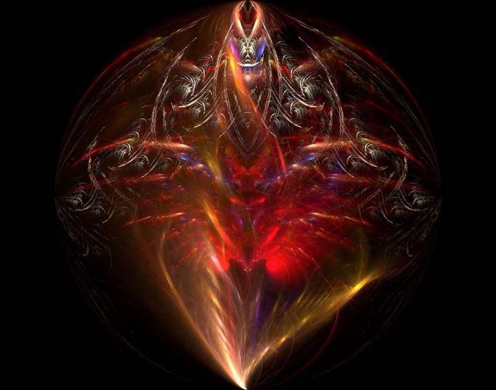 Tribal Flare Sphere - Mike Stone-PIXELXAOS