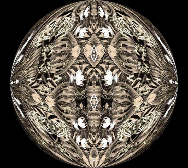 Pop Art Sphere1 - Mike Stone-PIXELXAOS