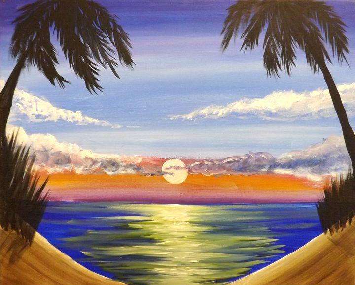 Twin Palms - PaintingsByDarren