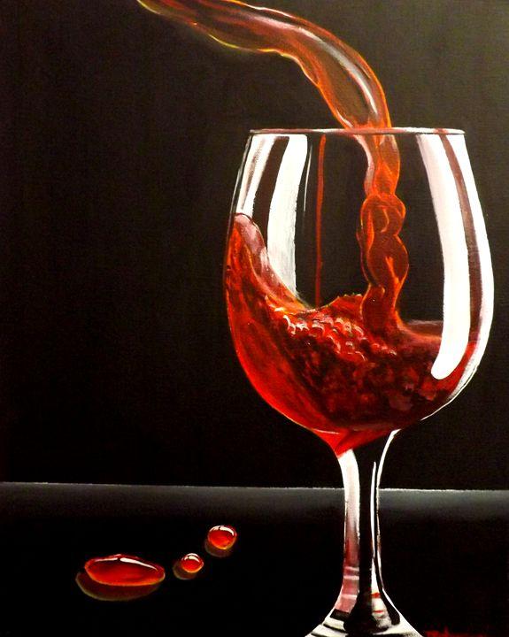 Lady In Red - PaintingsByDarren