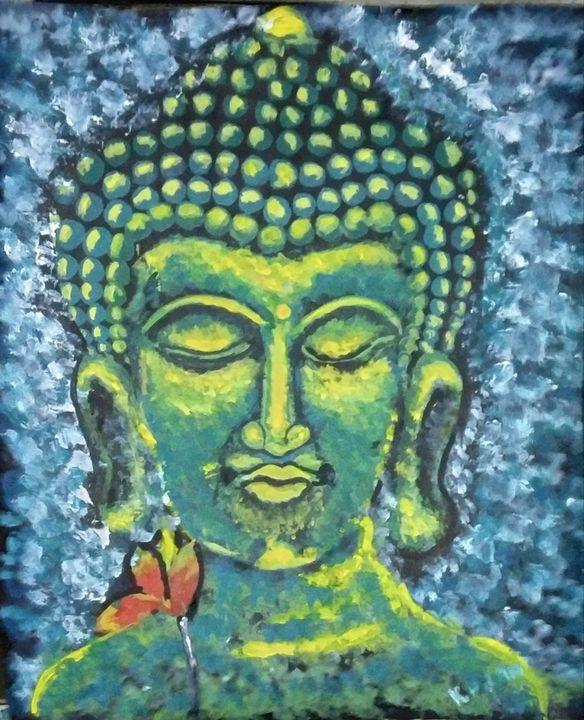 Lord Buddha - Jalal art
