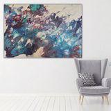Original acrylic fluid painting