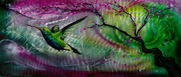 Humming Bird B - Navarro Fine Art