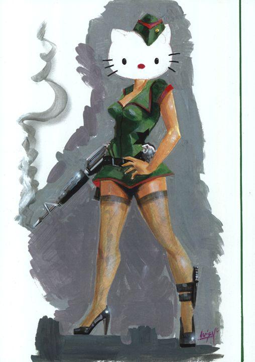 Hello Kitty - Navarro Fine Art