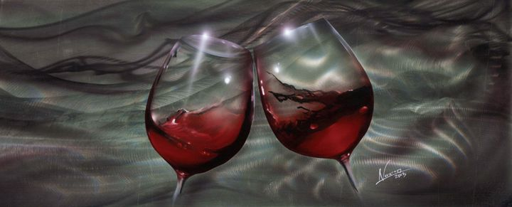 Wine Cups - Navarro Fine Art