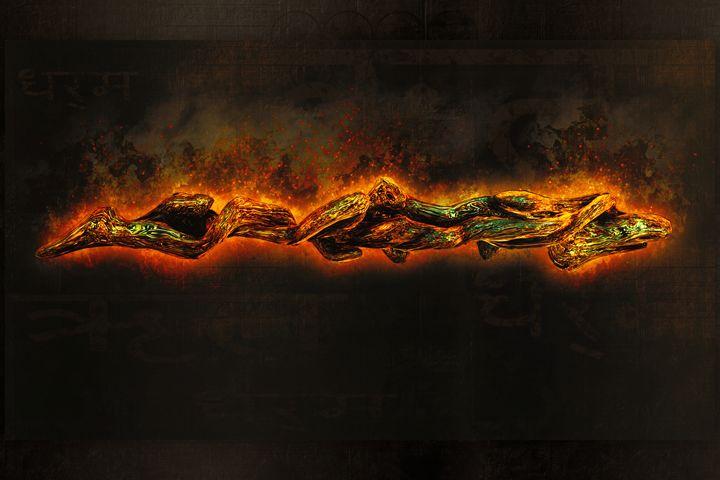 A burning desire print edition. - Rybird