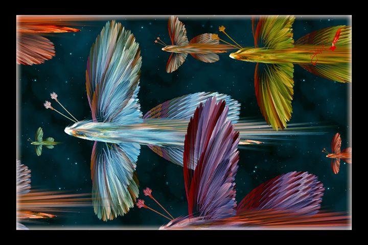 Flight of the Angelflies - Rybird