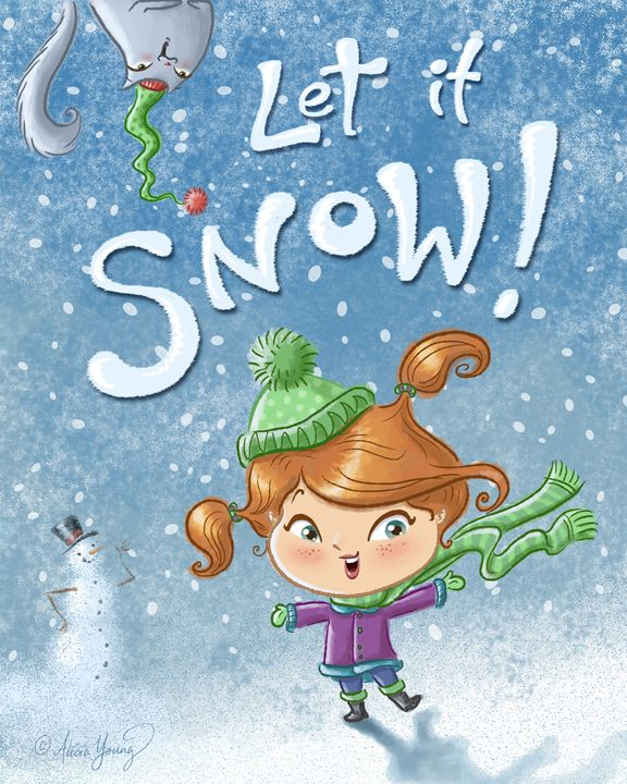 Let it Snow! - Alicia Young Art