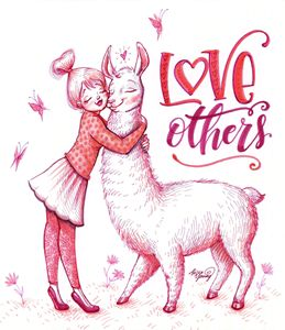 Love Others - Art by Alicia Renee