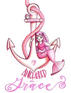 Anchored in Grace - Alicia Young Art