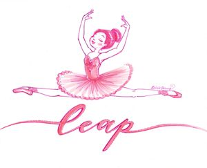 Leap - Art by Alicia Renee