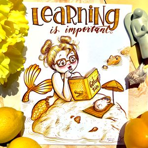 Learning is Important!Yellow staging
