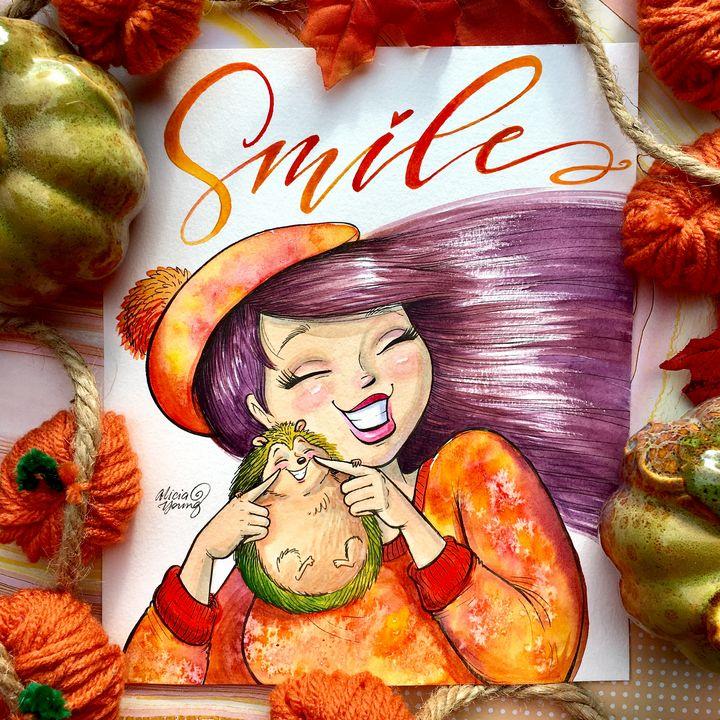 Smile! - Alicia Young Art