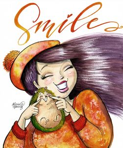 Smile - Art by Alicia Renee
