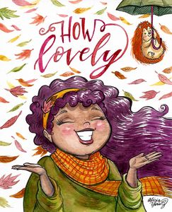 How Lovely - Alicia Young Art