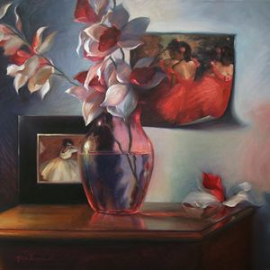 Poised Petals - Alicia Young Art