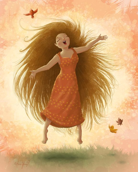 Joy - Art by Alicia Renee