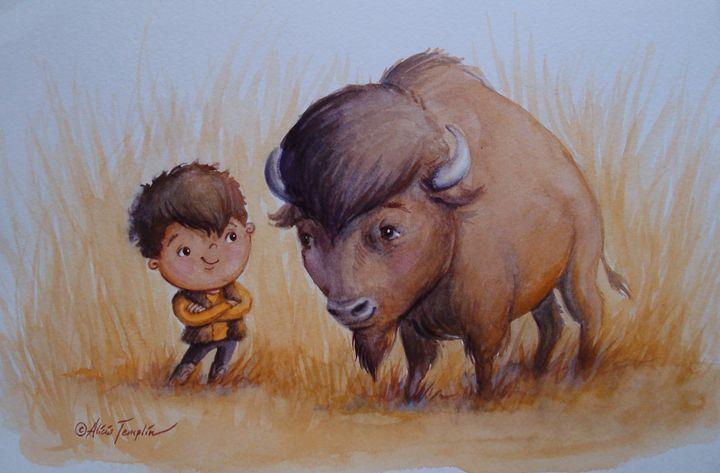 Buffalo Boys - Alicia Young Art