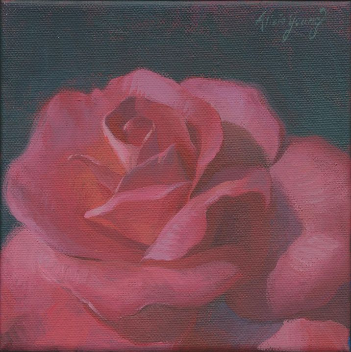 A Rosy Disposition - Alicia Young Art