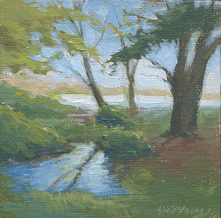 Miniature Fairy Landscape - Alicia Young Art