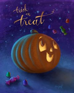 Trick or Treat! - Alicia Young Art