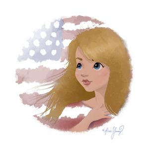 God Bless America 2 - Art by Alicia Renee