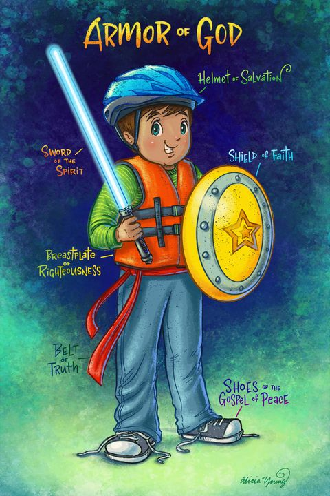 The Armor of God - Alicia Young Art