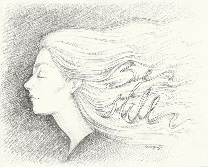 Be Still - Art by Alicia Renee