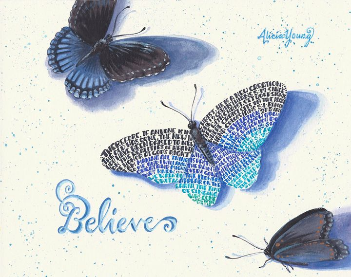Believe - Alicia Young Art
