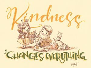 Kindness Changes Everything - Alicia Young Art