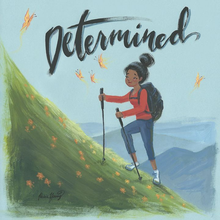 Determined - Art by Alicia Renee