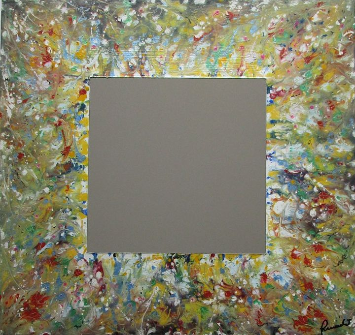 """Mirror n. 21 """"Esplosione di colori"""" - Gli specchi di Terry"""