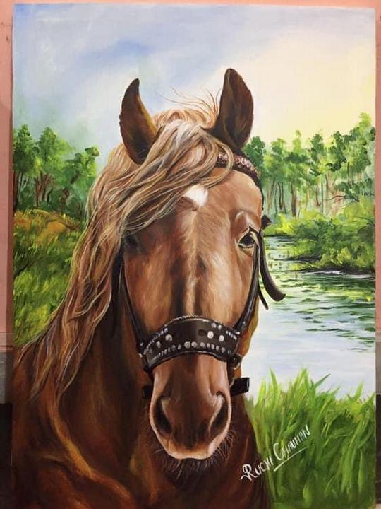 Horse - Myra art
