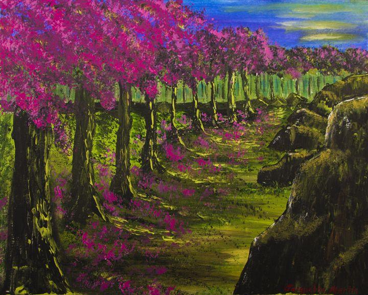 Heavenly Path - Jacqueline Melendez Gallery