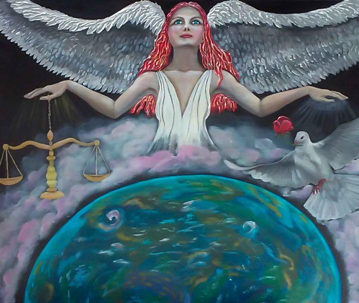 Angel of Earth - Jacqueline Melendez Gallery