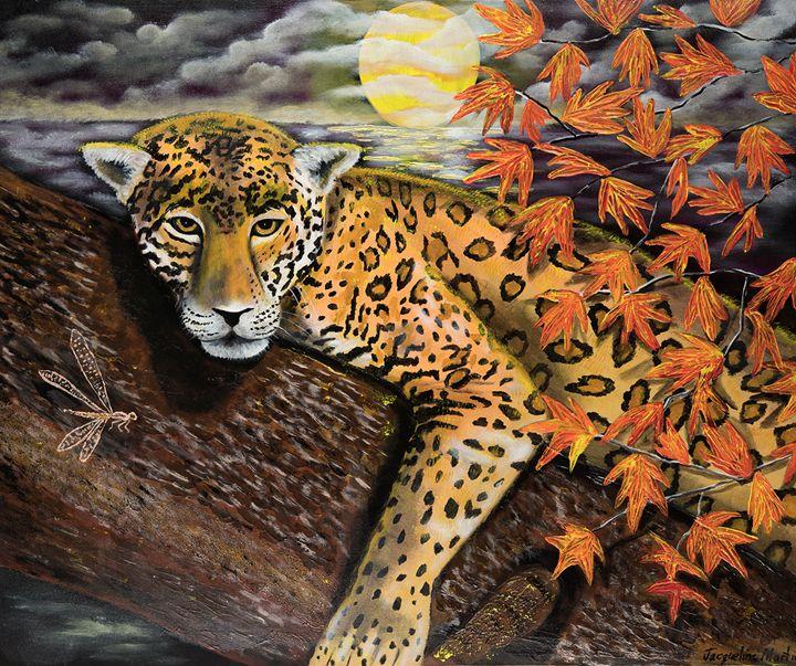 Autumn Jaguar - Jacqueline Melendez Gallery