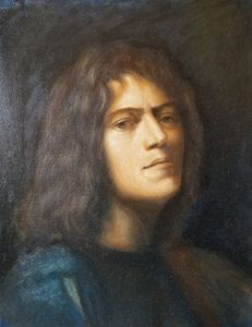 Study after Giorgione's self port.
