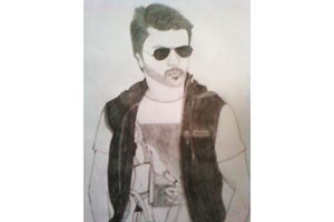 Ram Charan Pencil Art