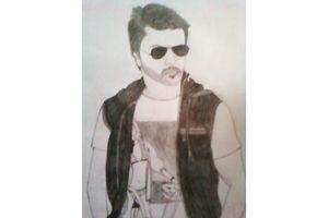 Ram Charan Pencil Art - Drawings